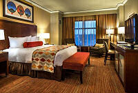 Photo: Four Winds Casino Resort Hotel Guest Room